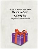 December Secrets comprehension questions