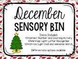 December Sensory Bins
