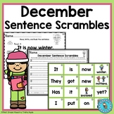 December Sentence Scrambles