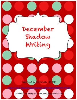 December Shadow Writing