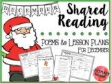 December Shared Reading: Poems and Lesson Plans