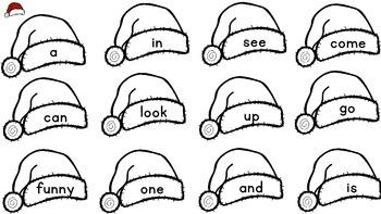 December Sight Words - A FREEBIE