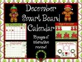 December Smart Board Calendar
