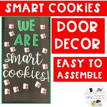 December Smart Cookies bulletin board or door decor