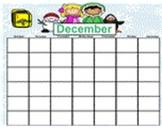 December Smartboard Calendar