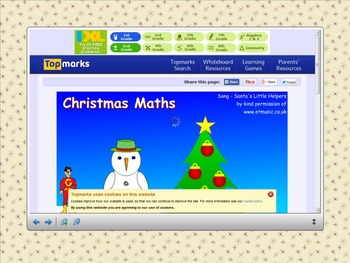 Smartboard Calendar December