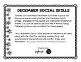 December Social Skills Packet