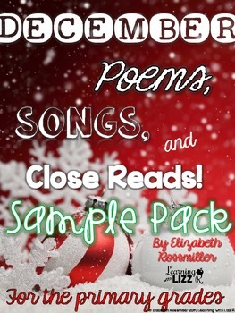 December Songs, Poems, and Close Reads Free Sampler