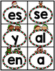 December Spanish Kindergarten High Frequency Words