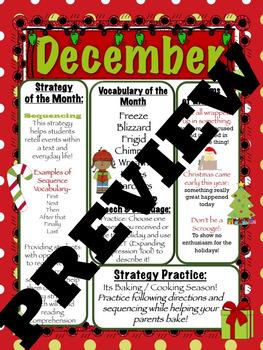 December Speech Language Monthly Newsletter