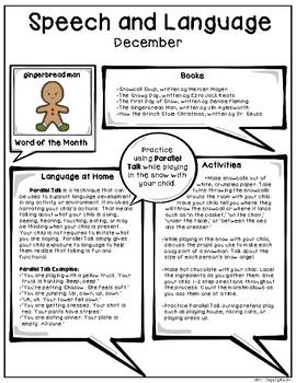 December Speech & Language Newsletter