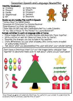 December Speech Language Newsletter