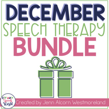 December Speech Therapy Bundle!