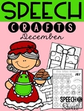 December: Speech Therapy Crafts