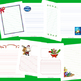 December Stationary for Christmas and Hanukkah Writing Assignments