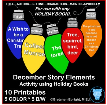 December - Story Elements - String of Lights