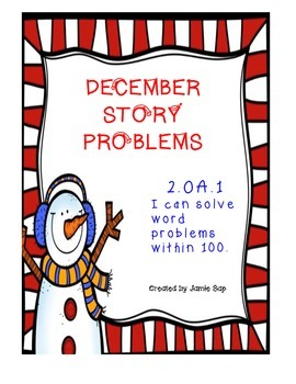 December Story Problems (2.OA.1)