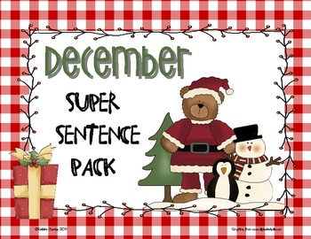 December Super Sentence Pack