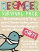 December Survival Pack {A Monthly MEGA-BUNDLE!}
