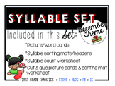 December Syllable Set