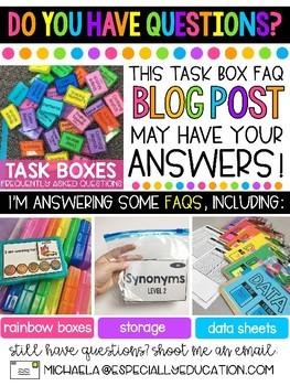 December Task Boxes