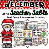December Teacher Table