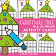 Christmas Activities {December Ten Frame Activity Cards}