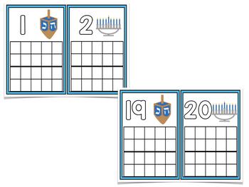 December Ten Frame Cards!  A Common Core Math Creation!