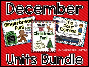 December Thematic Units BUNDLED
