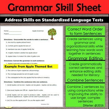 December Speech Therapy Theme-Based Vocabulary and Grammar Worksheets