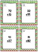 December Themed Adding & Subtracting Task Cards & Game 2.NBT.5