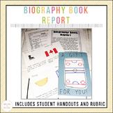 December Themed Biography Book Report