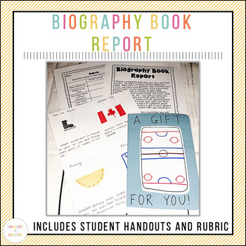 December Themed Biography Book Report