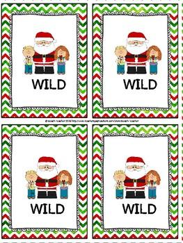 December Themed Two-Digit Multiplication Task Cards & Game 4.NBT.5
