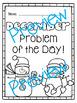 December Word Problems & Math Interactive Notebook Pack!