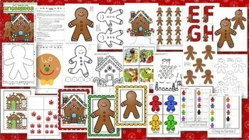 December Themes Curriculum BUNDLE Activities and Centers for Preschool