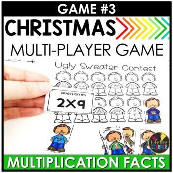 Christmas Third Grade Math Centers BUNDLE