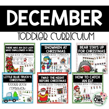 December Toddler Curriculum