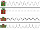 December Tracing Strips