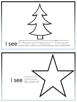 December Tracing - What do you see?