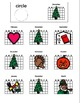 December Vocabulary for special education, autism, early childhood education