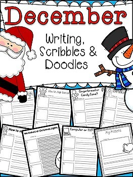 December WRITING PROMPTS common core