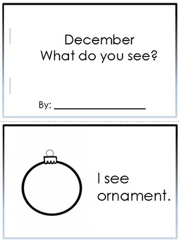 December - What do you see?