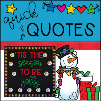 December | Winter Bulletin Board | Jolly EDITABLE Snowman Theme