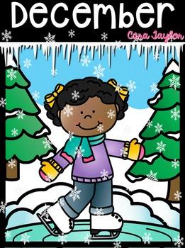 December ~ Winter No Prep Printables