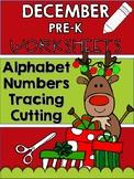 December Winter Preschool Worksheets