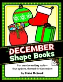 Creative Writing with December (Winter) Shape Books—Four Choices!