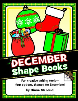 Creative Writing with December (Winter) Shape Books