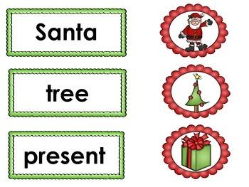 December Winter Vocabulary