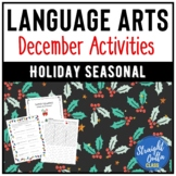 December Christmas Language Arts Activities
